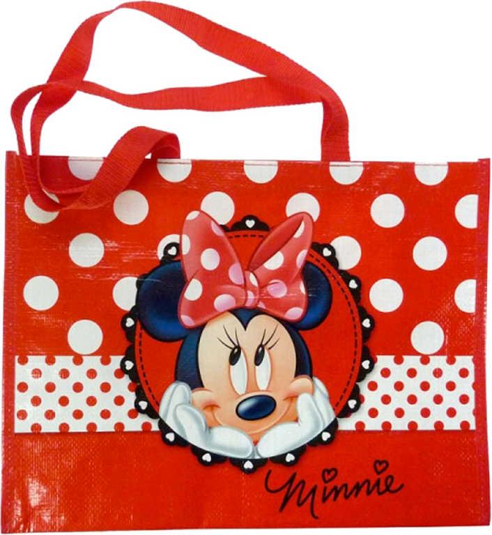 Velká textilní dětská nákupní taška MINNIE MOUSE