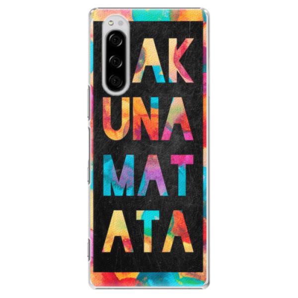 Plastové pouzdro iSaprio - Hakuna Matata 01 - Sony Xperia 5