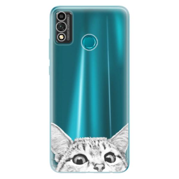Odolné silikonové pouzdro iSaprio - Cat 02 - Honor 9X Lite