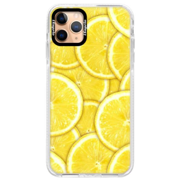 Silikonové pouzdro Bumper iSaprio - Yellow - iPhone 11 Pro Max