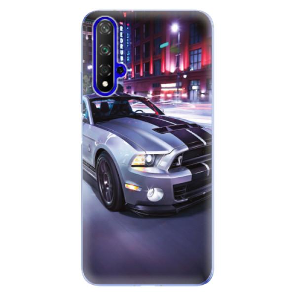 Odolné silikonové pouzdro iSaprio - Mustang - Huawei Honor 20