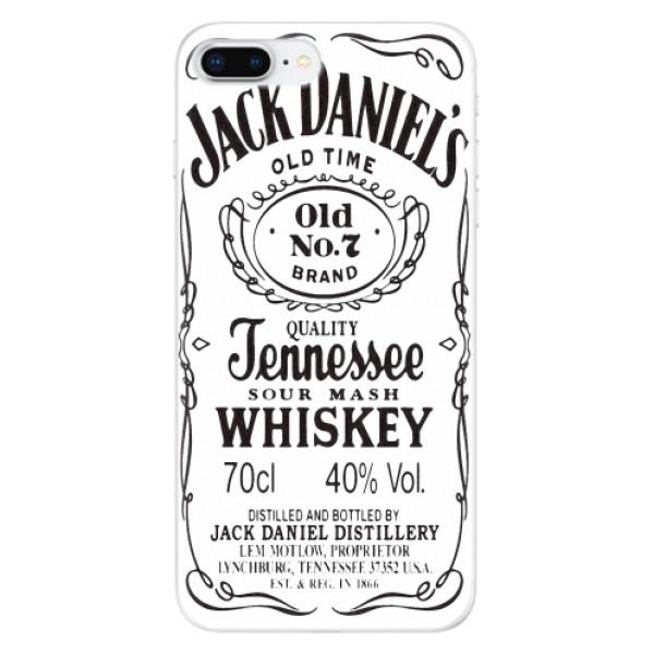 Odolné silikonové pouzdro iSaprio - Jack White - iPhone 8 Plus