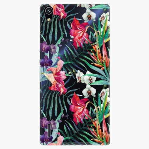 Plastový kryt iSaprio - Flower Pattern 03 - Huawei Ascend P7