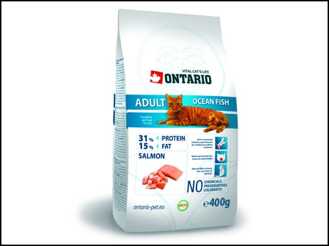 ONTARIO Cat Adult Ocean Fish 400g