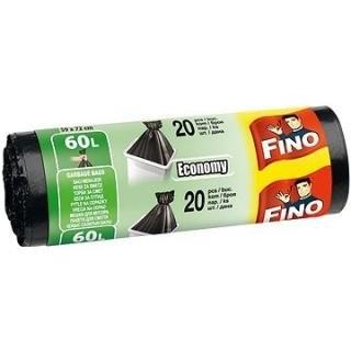 Pytle na odpadky - Economy - černé 60 l / 20 ks