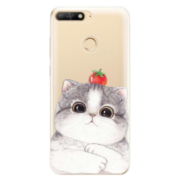 Odolné silikonové pouzdro iSaprio - Cat 03 - Huawei Y6 Prime 2018