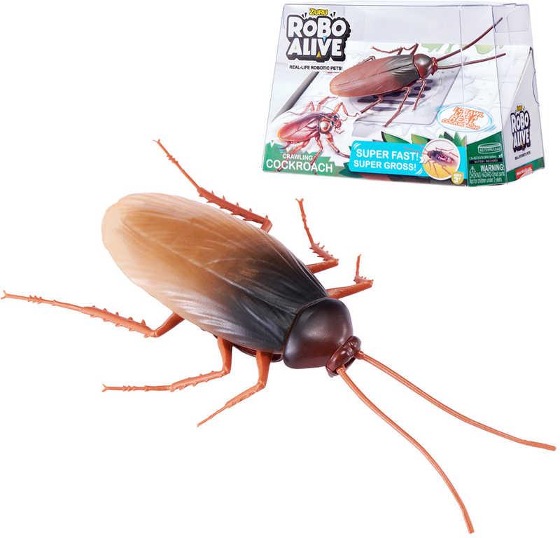 ZURU Robo Alive šváb zvířátko na baterie realistický vzhled