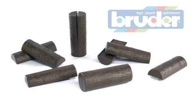 BRUDER 02340 (2340) Špalky 10 ks