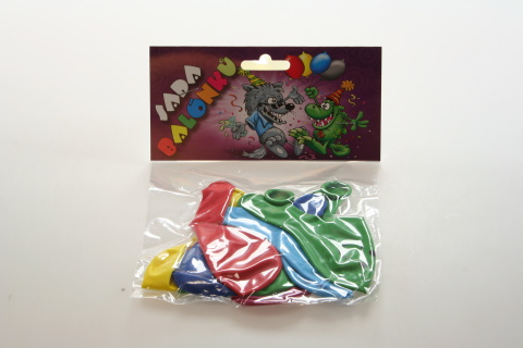 Balonky Smile mix barev, sada 9 ks