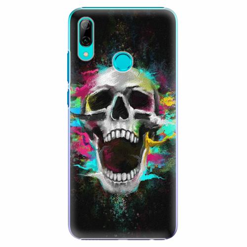 Plastový kryt iSaprio - Skull in Colors - Huawei P Smart 2019