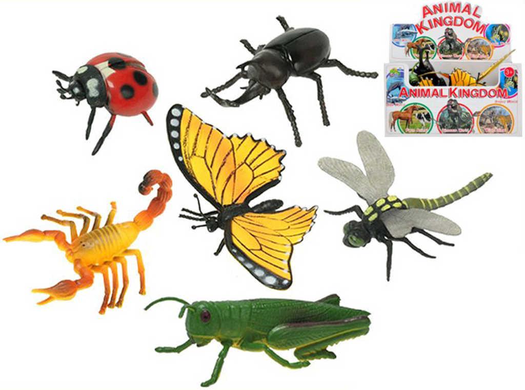 Hmyz 9-13cm zvířátko plastové různé druhy