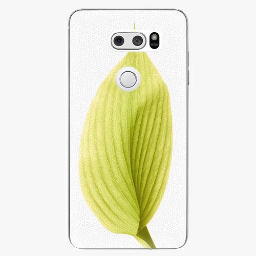 Plastový kryt iSaprio - Green Leaf - LG V30