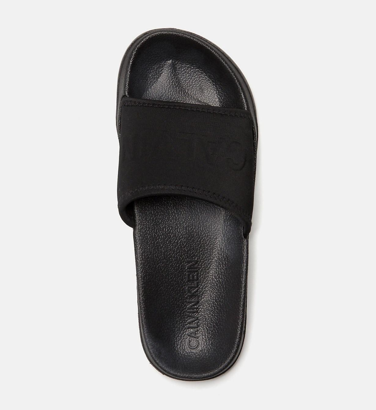 Pantofle KW0KW00514-094 černá - Calvin Klein - Černá/39/40