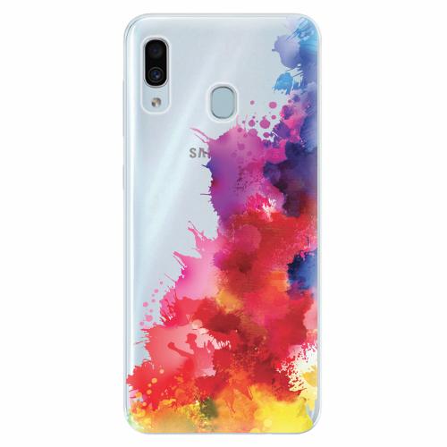 Silikonové pouzdro iSaprio - Color Splash 01 - Samsung Galaxy A30