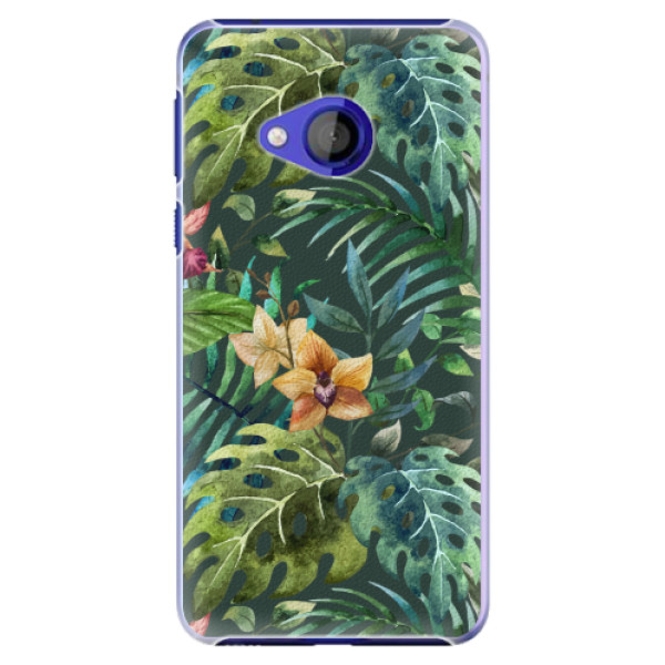 Plastové pouzdro iSaprio - Tropical Green 02 - HTC U Play