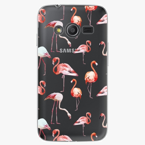 Plastový kryt iSaprio - Flami Pattern 01 - Samsung Galaxy Trend 2 Lite