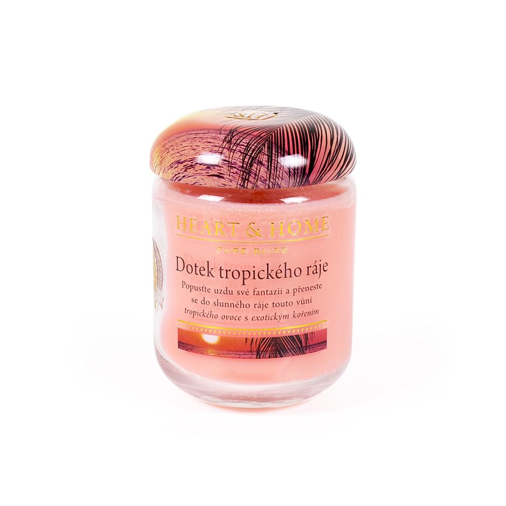 Střední - svíčka - Tropický ráj