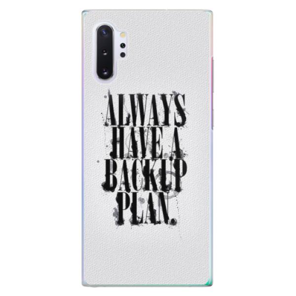 Plastové pouzdro iSaprio - Backup Plan - Samsung Galaxy Note 10+