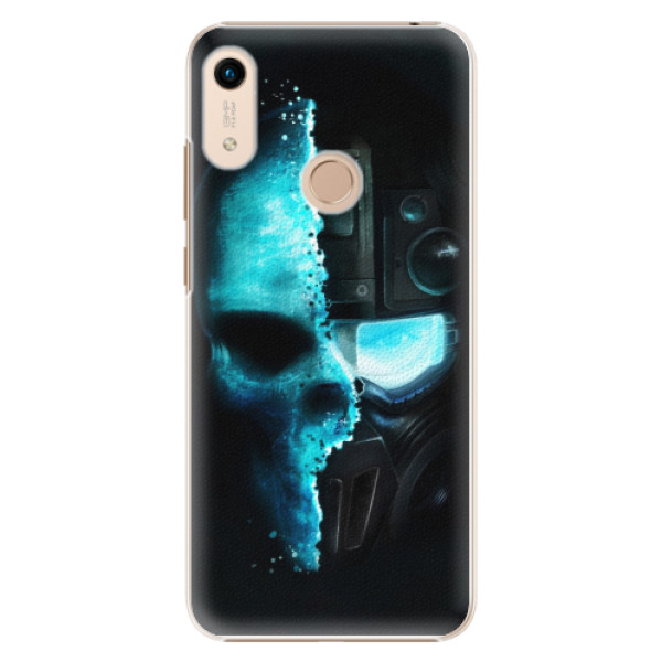 Plastové pouzdro iSaprio - Roboskull - Huawei Honor 8A