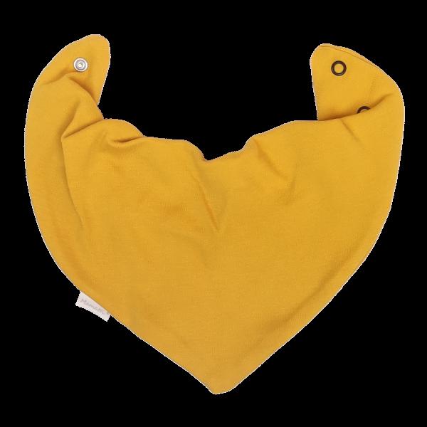 Mamatti Dětský šátek na krk Mýval - hořčicová - univerzální