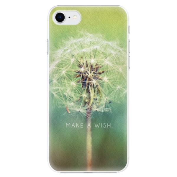 Plastové pouzdro iSaprio - Wish - iPhone SE 2020