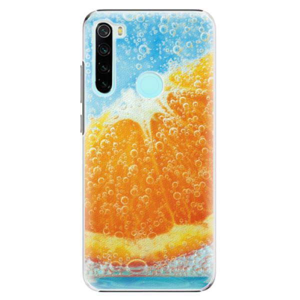 Plastové pouzdro iSaprio - Orange Water - Xiaomi Redmi Note 8