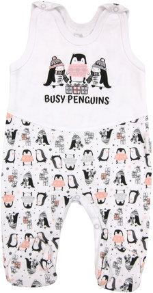 Kojenecké bavlněné dupačky Penguin, roz.