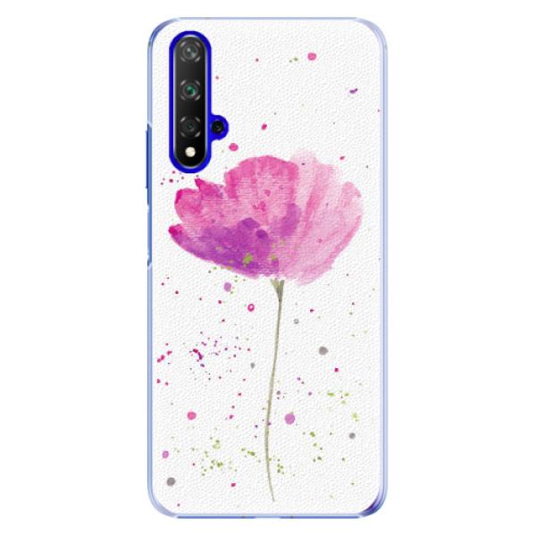 Plastové pouzdro iSaprio - Poppies - Huawei Honor 20