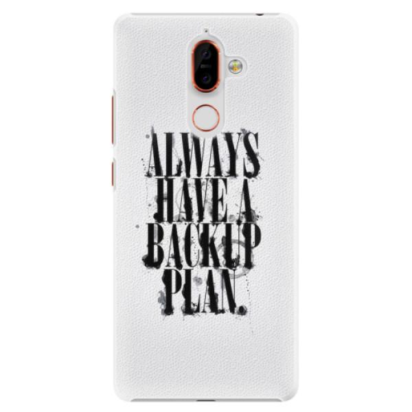 Plastové pouzdro iSaprio - Backup Plan - Nokia 7 Plus