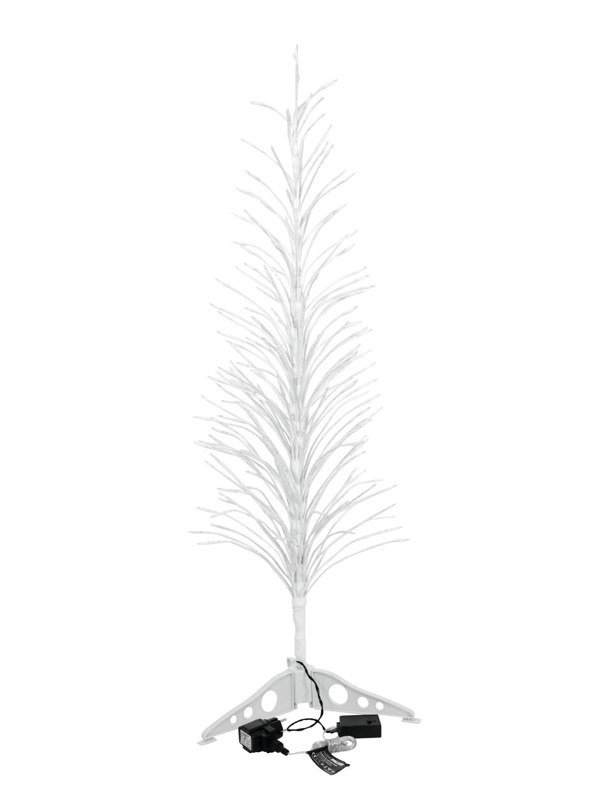 Stromek 155 cm s LED, studená bílá