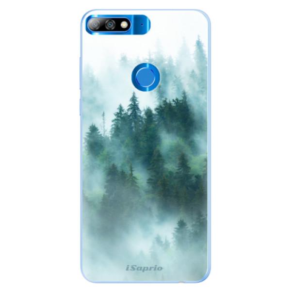 Silikonové pouzdro iSaprio - Forrest 08 - Huawei Y7 Prime 2018