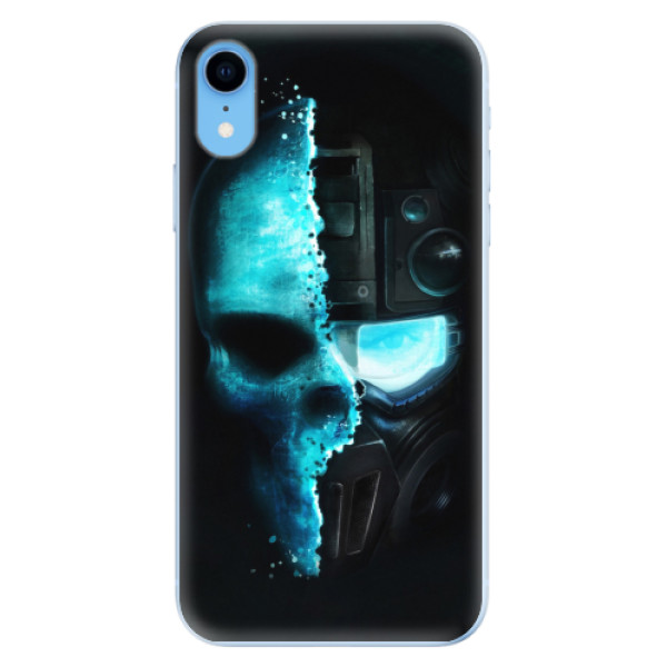 Odolné silikonové pouzdro iSaprio - Roboskull - iPhone XR
