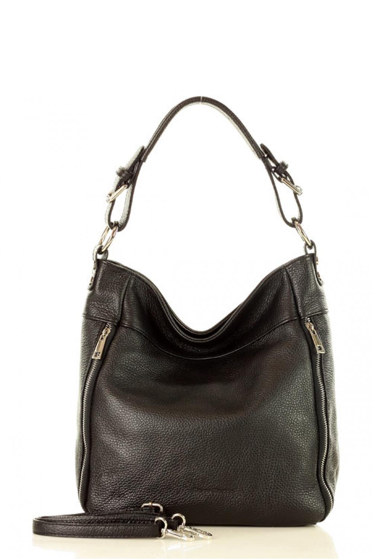 Přírodní kožená taška model 136452 Mazzini - UNI velikost