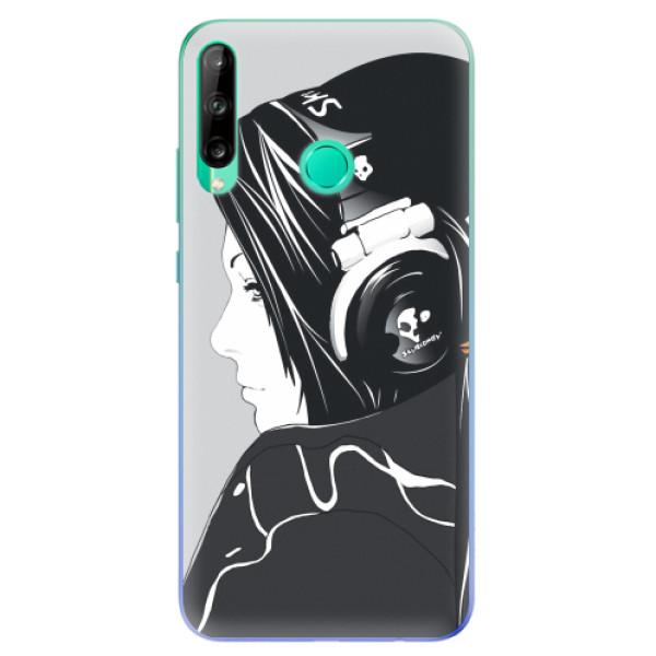 Odolné silikonové pouzdro iSaprio - Headphones - Huawei P40 Lite E