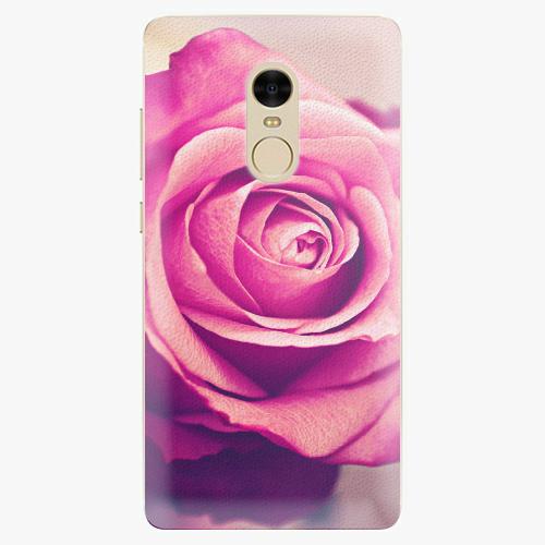 Plastový kryt iSaprio - Pink Rose - Xiaomi Redmi Note 4
