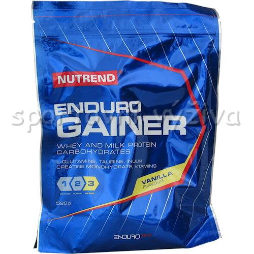 Enduro Gainer - 520g-vanilka