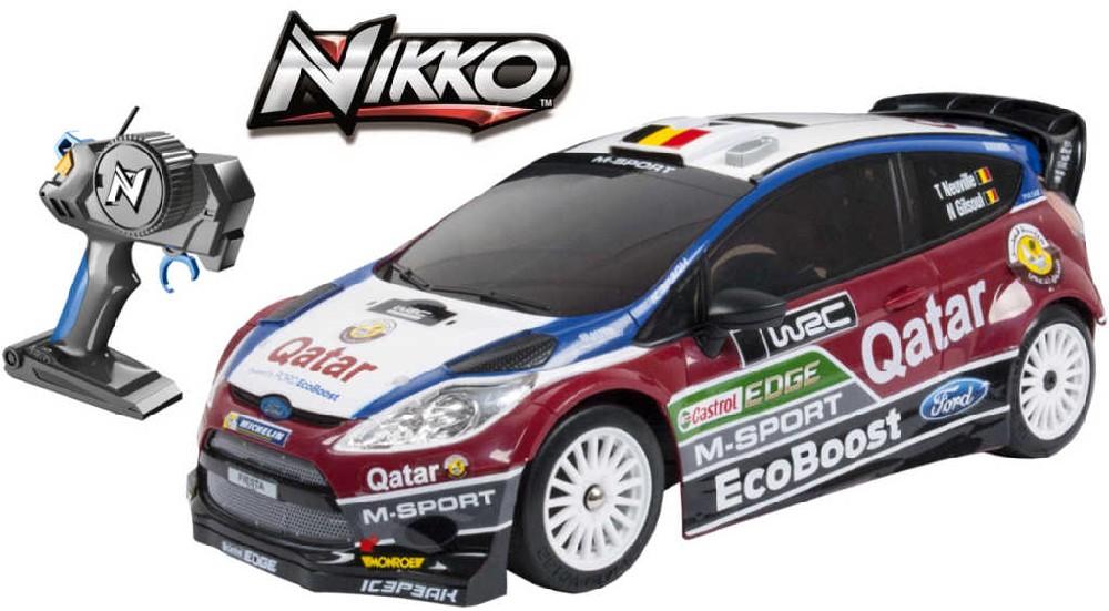 NIKKO RC Auto Ford Fiesta RS WRC 1:16 42cm na baterie na dálkové ovládání