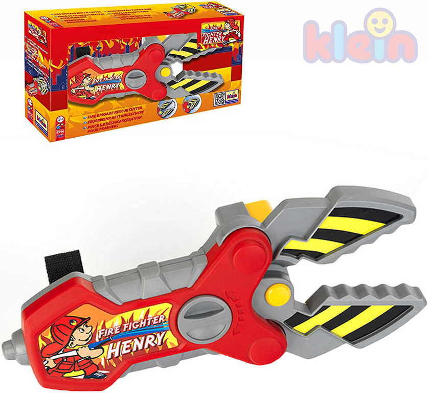 KLEIN Nůžky dětské hasičské záchranářské plast