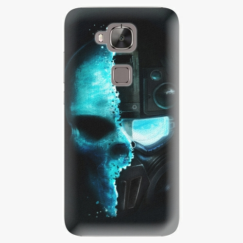 Plastový kryt iSaprio - Roboskull - Huawei Ascend G8
