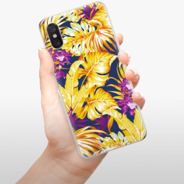 Odolné silikonové pouzdro iSaprio - Tropical Orange 04 - Xiaomi Mi 8 Pro