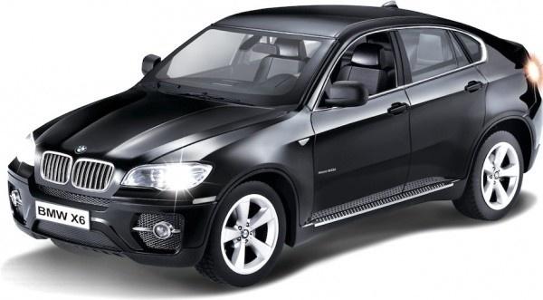 BMW X6 - černá, auto na dálkové ovládání 1/14