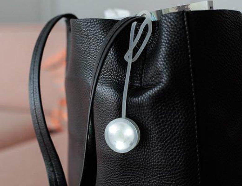 Silikonové světlo na kabelku