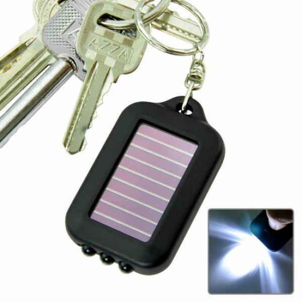LED klíčenka - solární design