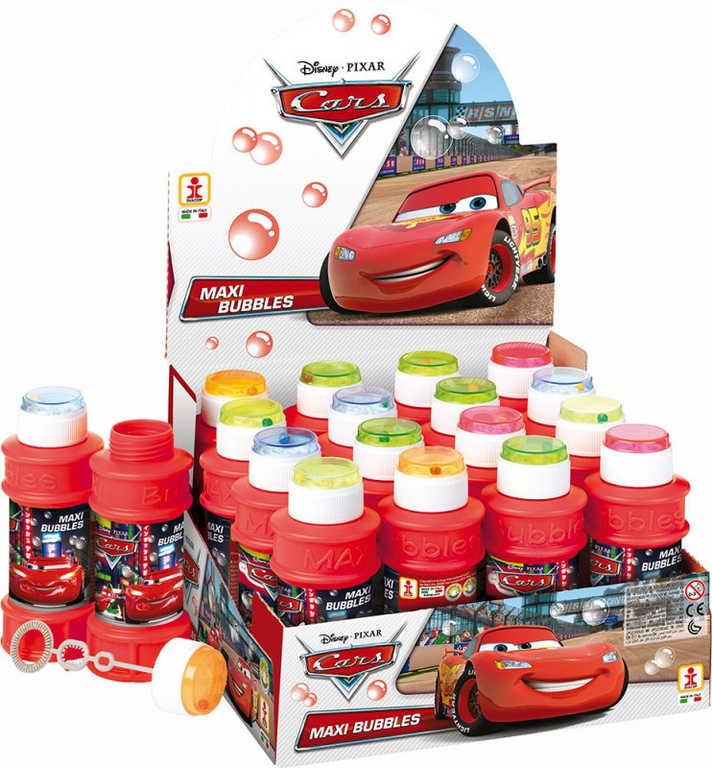 Bublifuk Cars maxi 175 ml dětský bublifukovač s hrkávkou různé barvy