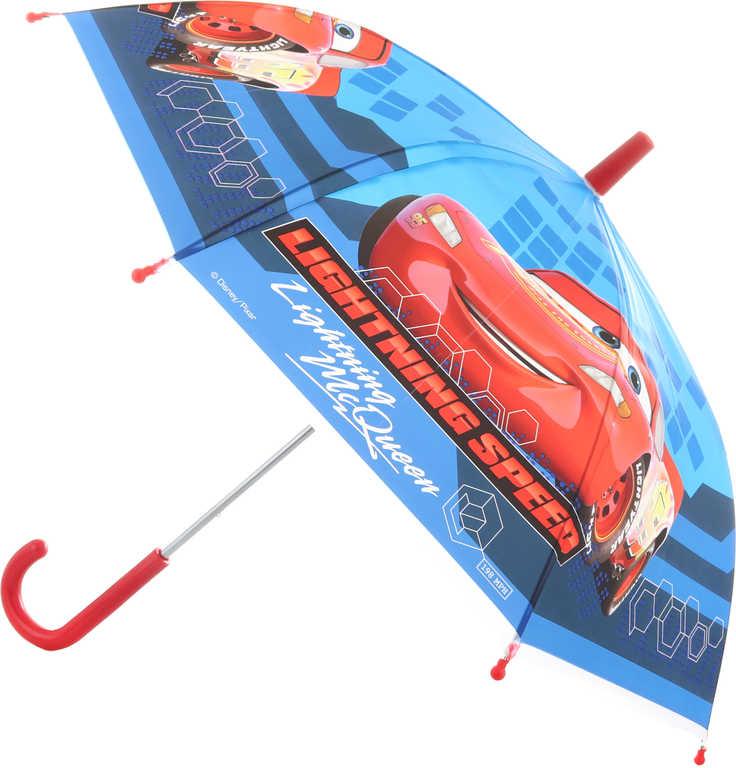 Deštník dětský Cars (Auta) 65x65x60cm manuální