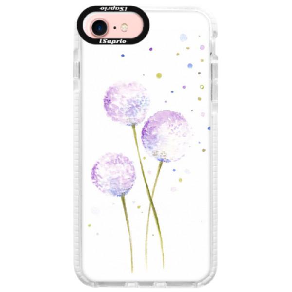 Silikonové pouzdro Bumper iSaprio - Dandelion - iPhone 7