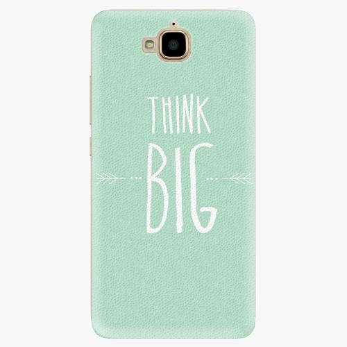 Plastový kryt iSaprio - Think Big - Huawei Y6 Pro