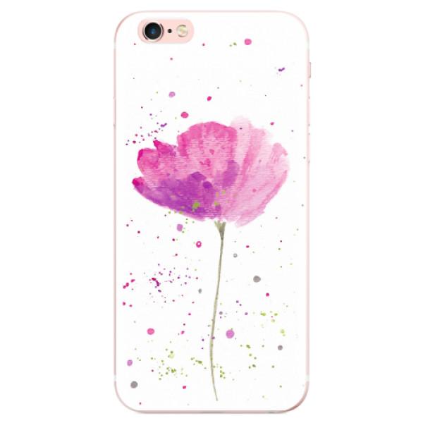 Odolné silikonové pouzdro iSaprio - Poppies - iPhone 6 Plus/6S Plus