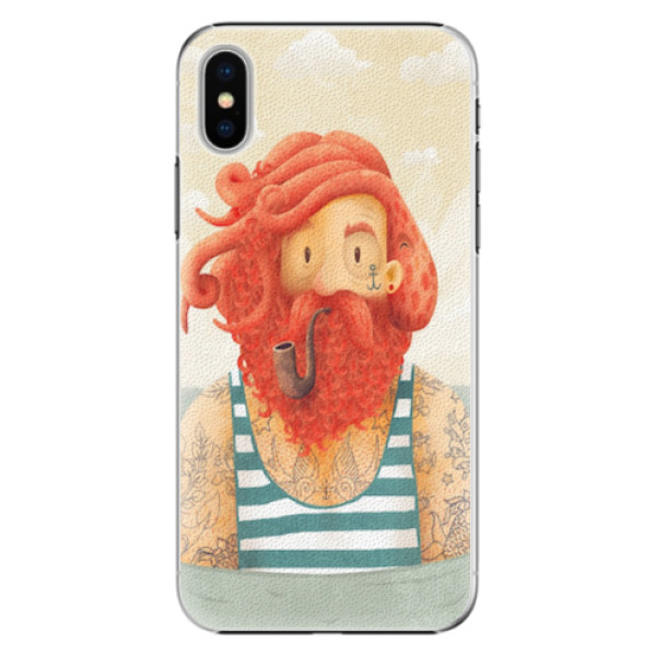 Plastové pouzdro iSaprio - Sailor - iPhone X