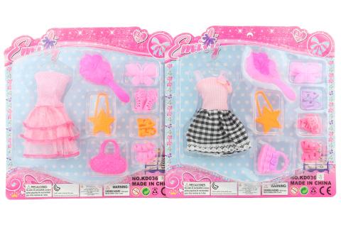 Šatičky pro panenky s doplňky